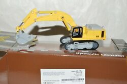 Ho Scale Classic Metal Works Yellow Hydraulic Excavator Backhoe Construction