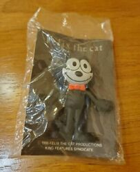 Felix The Cat Worldand039s Most Famous Cat Figurine Pin 1986 Vintage Rare Japan Made