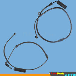 Qty2 Front Rear Brake Pad Wear Sensor Fit For Bmw X5 E53 3.0i 2001 To 2005 New