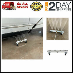 Under Car Cleaner Attachment For Pressure Washer, 13 Power Washer Water Broom