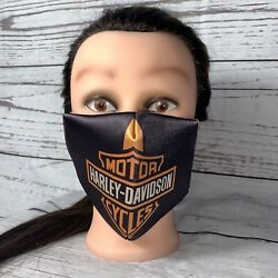 Harley Davidson Motor Cycles Face Mask Reusable and Washable Custom Design NEW $13.50