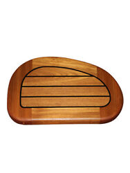 2 Thick Genuine Burmese Teak Steps For The Searay 32/34 Free Shipping