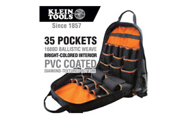 17.5 in. Tool Gear Backpack Klein Tradesman Pro Jobsite Contractor Back Pack Bag $100.73