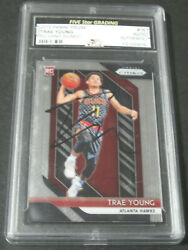 2018-19 Panini Prizm Trae Young Hand Signed Rc Rookie Auto Autograph Rare