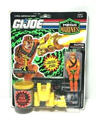 1992 GI Joe Mega Marines Clutch Figure and Accessories New In The Package $75.00