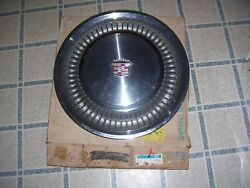 70 Cadillac Deville Fleetwood Calais Stainless Hub Cap Wheel Cover New Old Stock
