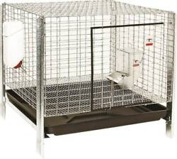 New Miller Pet Lodge Rhck1 24 Complete Rabbit Hutch Animal Cage Kit 0058057