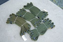 20 Foot Military Tow Strap Multi Loop 44500 Lbs Pull Off Road 4x4 Lot Of 4