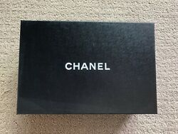 "Chanel empty shoe box 12.25"" X 8"" X 4"" $19.50"