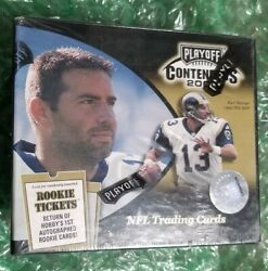 2000 Playoff Contenders Football Sealed Box. Tom Brady Rookie Year!