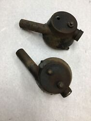 Rover 2000 Carburetor Air Cleaners With Hardware As Pictured. 1970