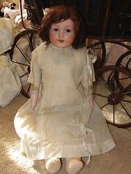 24 Antique Bisque German Heubach Sunshine Doll Made For Sears Roebuck And Co.
