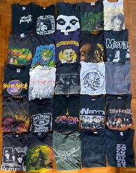Vintage Wholesale T Shirtandnbsp Lot 101 Graphic 70s 80s 90s Sports Metal Mickey Rock
