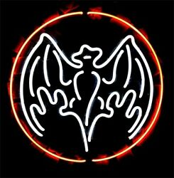 Bacardi Distillery 17x17 Neon Sign Lamp Bar With Dimmer