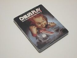 Childs Play Blu-ray Disc 2016 2-disc Set Collectors Edition With Slipcover