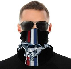Ford Mustang Cobra Logo Variety Head Scarf Face Mask Neck Gaiter $15.95