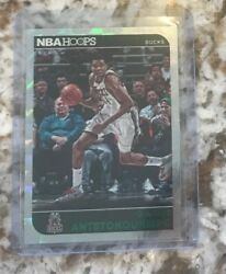 2014-15 NBA Hoops Giannis Antetokounmpo Green Foil Parallel card (2nd Year)
