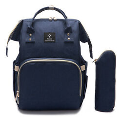Multifunctional Mummy Backpack Diaper Bags Large Baby Nappy Changing Bag USA $37.59