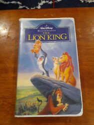 Vtg 1995 Walt Disneyand039s The Lion King Masterpiece Collection Vhs Tape 2977