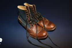 Sheryl Crow Personally Owned Used Sendra Size 7.5 Blue Brown Leather Boots
