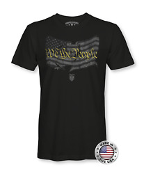 We The People American Flag Apparel USA Shirt Patriotic Shirts for Men
