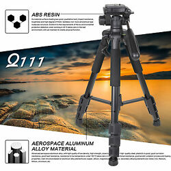Zomei Q111 Professional Portable Aluminium Tripodamp;Pan Head Travel for SLR Camera $30.99