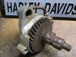 Harley Oem 25565-61p Camshaft Support Cam Housing Aermacchi Sprint 250 Italy C H