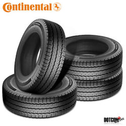 4 X New Continental Vancontact A/s 285/65r16r10 131r Tires