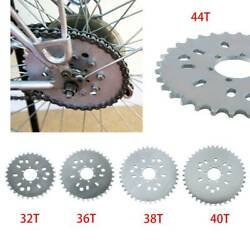 Wheel Sprocket 32 - 44t Tooth For Motorized Gas Cycle Bicycle 50cc 60cc 80cc