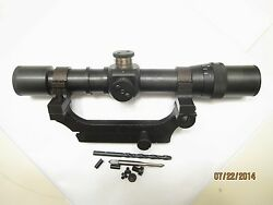 All Steel Soviet Russian Mosin Nagant 91/30 Pem Sniper Scope And Mount Combo