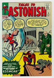 Tales To Astonish 45 Nm/mt 9.8 Ow/w Pgs 1963 Marvel Silver Age Ant-man
