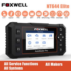 Full Systems Auto Car Obd2 Scanner Abs Srs Dpf Brt Tpms Diagnostic Service Tools