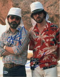 George Lucas And Steven Spielberg Dual Signed Autograph 11x14 Photo - Star Wars C