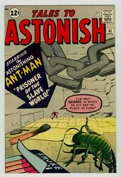 Tales To Astonish 41 Nm/mt 9.8 Ow/w Pgs 1963 Marvel Silver Age 8th Ant-man