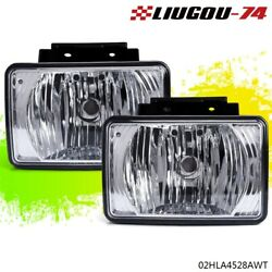 Pair Bumper Fog Light Lamp Fit For 2004-2012 Chevy Colorado Gmc Canyon Pickup