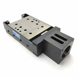 Skf 0359020 Linear Stage Actuator, 1 Travel, 2mm Lead, 4 X 4 1/2 Table, Nema23