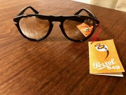 Persol Ratti Persole 649-2 Sticker With Tag Italy Vintage Gupard Glasses