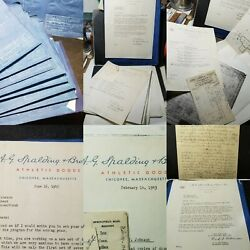 Rare Wwii 1943 And 1947 Sports Engineering Golf Clubs Blueprints Documents Design