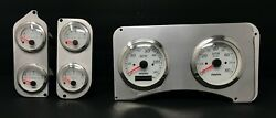 1973 1974 1975 1976 1977 1978 1979 1980 Chevy Truck 6 Gauge Gps Dash Cluster Wh