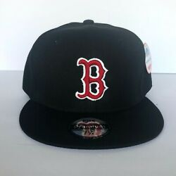 NEW Mens Boston Red Sox Baseball Cap Fitted Hat Multi Size Black