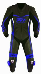 Arn Men,s Motorcycle Motorbike Ce Armour Cow Leather Racing Bikers Suits One Pcs