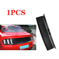 Fit For 2015-2020 Ford Mustang Dry Carbon Fiber Rear Trunk Peanl Cover Decor 1pc