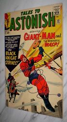 Tales To Astonish 52 Ow Pages 1964 - 1st Marvel Black Knight And Origin