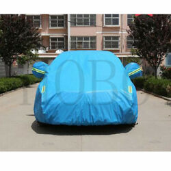 1pcs For For Ford Mustang Car Blue Whole Cover Cloth Sun Rain Protection Frame