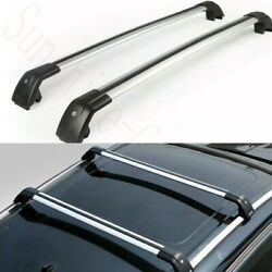 2x Car Roof Rack Luggage Carrier Baggage Holder Frame Trims For Bmw X1 2010-2019