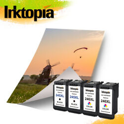 Pg-245xl And Cl-246xl Ink For Canon Mg2920 Mg2555 Ts202 Mg3022 Ip2820