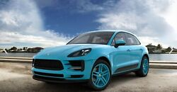 21 Inch Aftermarket Forged Widepack Classic Color Wheels Set - For Porsche Macan