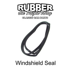 1963 1964 Buick Cadillac Chevy Oldsmobile Pontiac Windshield Seal - Convertibles