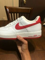 Nike 315122-111 Air Force 1 And03907 Us 8 Athletic Men And039s Sneakers - White