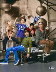 Jim Parsons, Kaley Cuoco Full Cast Signed Autograph -big Bang Theory 11x14 Photo